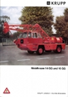 Krupp Mobilkrane 14 GG und 16 GG