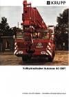 Krupp Vollhydraulischer Autokran 60 GMT