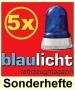 Blaulicht-Fahrzeug-Sonderhefte Aktions-Bundle (5 Stück)
