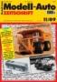 Modell-Auto Zeitschrift Heft Nr. 11/2009