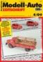 Modell-Auto Zeitschrift Heft Nr. 4/2009