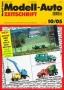Modell-Auto Zeitschrift Heft Nr. 10/2005