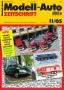 Modell-Auto Zeitschrift Heft Nr. 11/2005