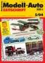 Modell-Auto Zeitschrift Heft Nr. 5/2004