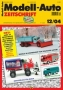 Modell-Auto Zeitschrift Heft Nr. 12/2004