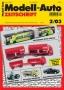 Modell-Auto Zeitschrift Heft Nr. 2/2003