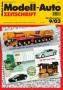 Modell-Auto Zeitschrift Heft Nr. 9/2003