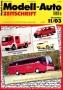 Modell-Auto Zeitschrift Heft Nr. 11/2003