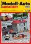 Modell-Auto Zeitschrift Heft Nr. 1/2012