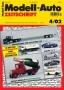 Modell-Auto Zeitschrift Heft Nr. 4/2002