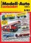 Modell-Auto Zeitschrift Heft Nr. 5/2002