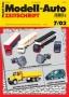 Modell-Auto Zeitschrift Heft Nr. 7/2002