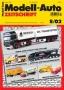 Modell-Auto Zeitschrift Heft Nr. 8/2002