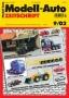 Modell-Auto Zeitschrift Heft Nr. 9/2002