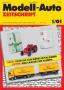 Modell-Auto Zeitschrift Heft Nr. 1/2001