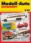 Modell-Auto Zeitschrift Heft Nr. 2/2001