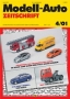 Modell-Auto Zeitschrift Heft Nr. 4/2001
