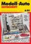 Modell-Auto Zeitschrift Heft Nr. 6/2001