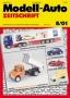 Modell-Auto Zeitschrift Heft Nr. 8/2001