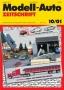 Modell-Auto Zeitschrift Heft Nr. 10/2001