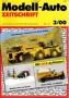 Modell-Auto Zeitschrift Heft Nr. 3/2000