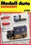 Modell-Auto Zeitschrift Heft Nr. 6/2000
