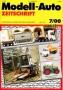 Modell-Auto Zeitschrift Heft Nr. 7/2000
