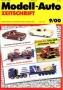 Modell-Auto Zeitschrift Heft Nr. 9/2000