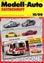 Modell-Auto Zeitschrift Heft Nr. 10/2000