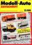 Modell-Auto Zeitschrift Heft Nr. 11/2000