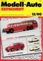 Modell-Auto Zeitschrift Heft Nr. 12/2000