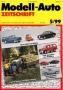 Modell-Auto Zeitschrift Heft Nr. 5/1999