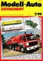 Modell-Auto Zeitschrift Heft Nr. 7/1999