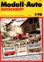 Modell-Auto Zeitschrift Heft Nr. 1/1998