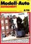 Modell-Auto Zeitschrift Heft Nr. 4/1998