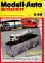 Modell-Auto Zeitschrift Heft Nr. 8/1998