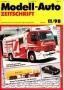 Modell-Auto Zeitschrift Heft Nr. 11/1998