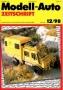 Modell-Auto Zeitschrift Heft Nr. 12/1998