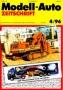 Modell-Auto Zeitschrift Heft Nr. 4/1996