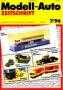 Modell-Auto Zeitschrift Heft Nr. 7/1996