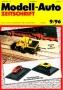 Modell-Auto Zeitschrift Heft Nr. 9/1996