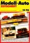 Modell-Auto Zeitschrift Heft Nr. 12/1996