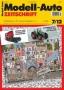 Modell-Auto Zeitschrift Heft Nr. 7/2012