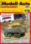 Modell-Auto Zeitschrift Heft Nr. 8/2012