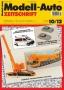 Modell-Auto Zeitschrift Heft Nr. 10/2012