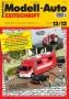 Modell-Auto Zeitschrift Heft Nr. 12/2012