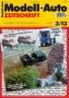Modell-Auto Zeitschrift Heft Nr. 3/2013