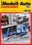 Modell-Auto Zeitschrift Heft Nr. 10/2013