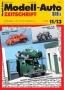 Modell-Auto Zeitschrift Heft Nr. 11/2013