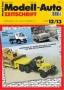 Modell-Auto Zeitschrift Heft Nr. 12/2013